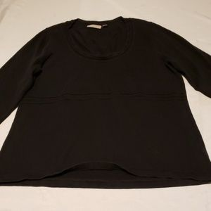 Plus size 1x black sweater croft & barrow